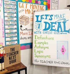 How to Deal with Context Clues – The Teacher Next Door [ 1024 x 1024 Pixel ]