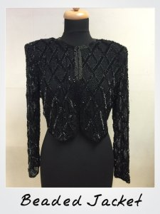 Vintage Beaded Evening Jacket Blog
