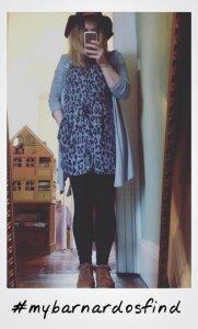 casual dress polaroid