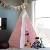 DIY Kids Teepee - The Thud