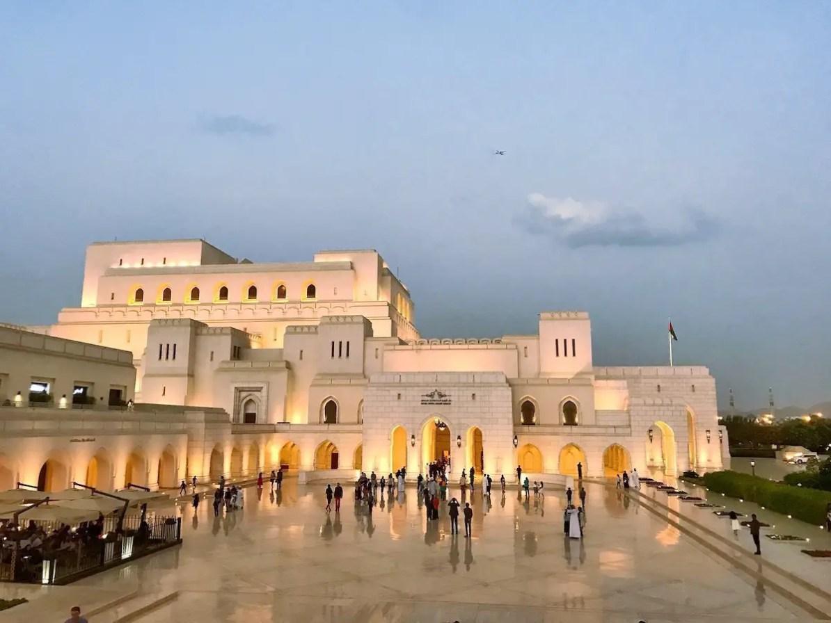 10 najlepszych miejsc do zobaczenia w Muskacie - Królewski Teatr Operowy w Maskacie
