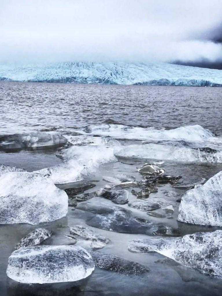 Icelandic landscapes - largest glacier in Iceland