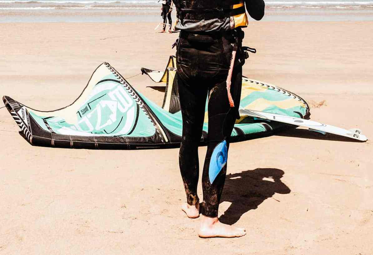 what to do in essaouira - kitesurfing