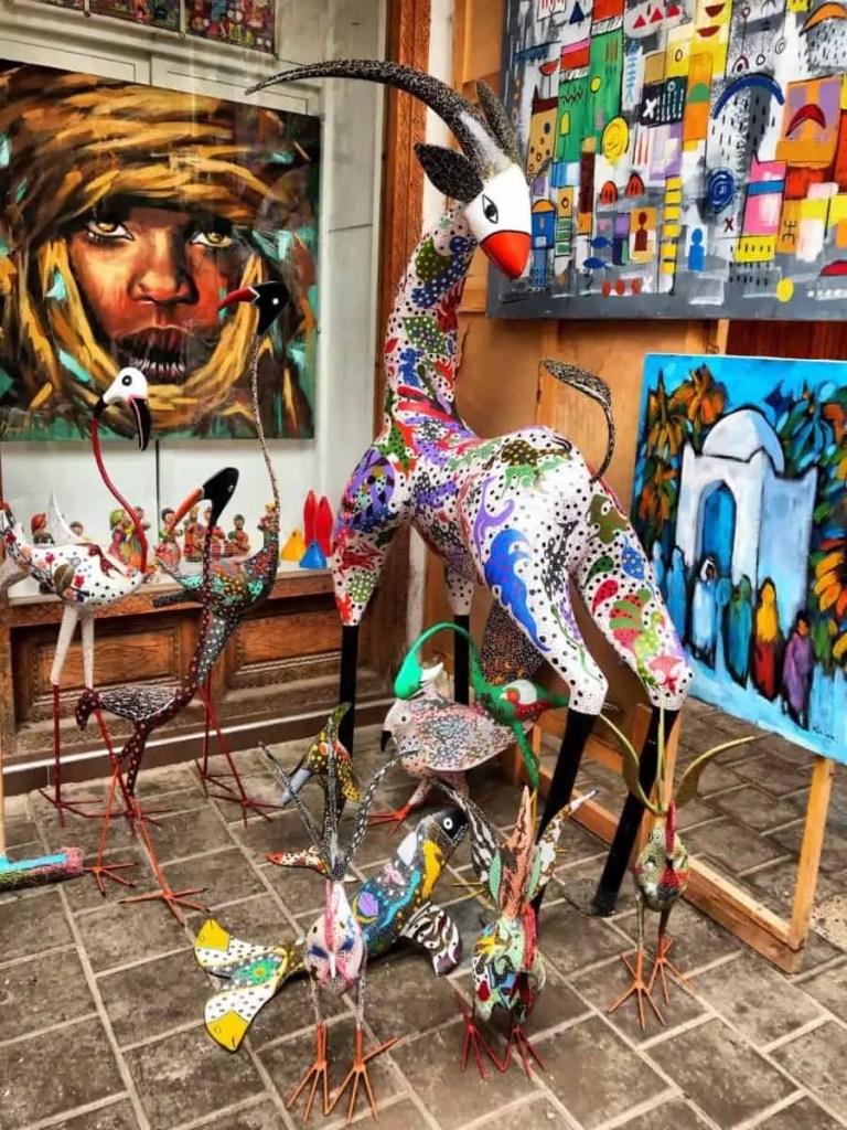 essaouira morocco buy street art