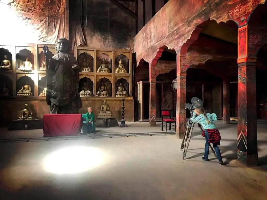 Ouarzazate movie set for Kundan