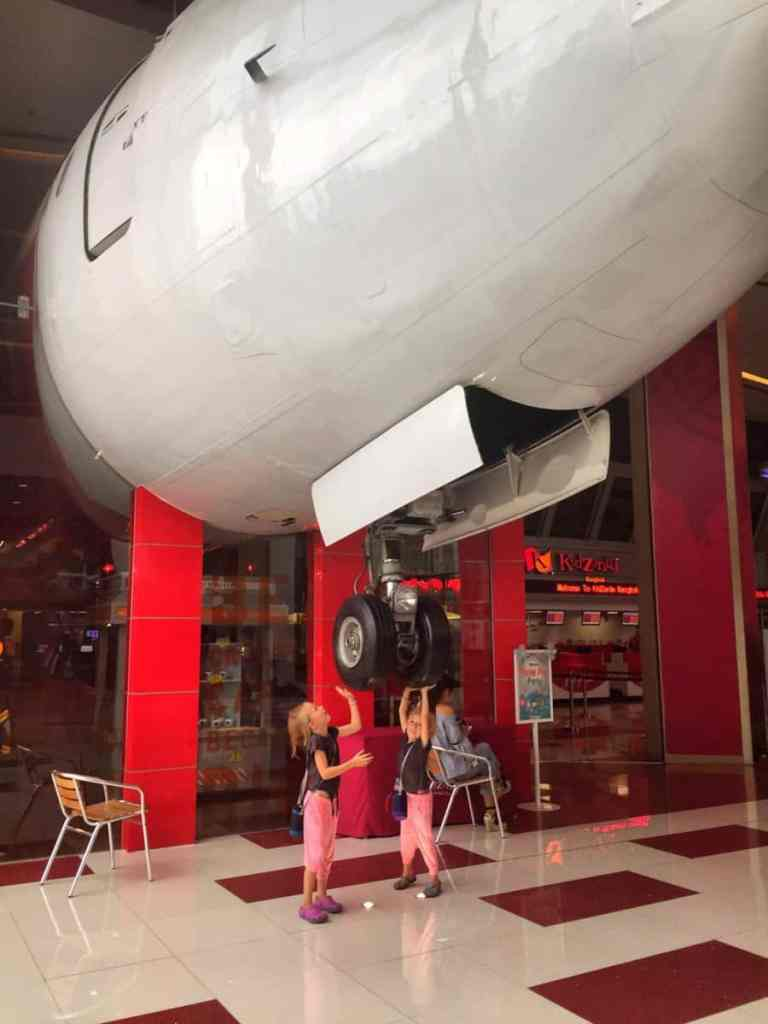 things to do in bangkok with kids - visit Kidzania, bangkok for kids