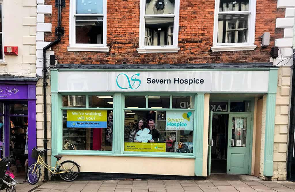 preloved shrewsbury, severn hospice shop shrewsbury,