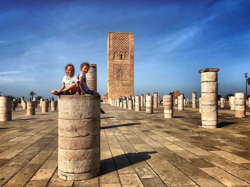 things to do in Rabat - visit Hassan tower