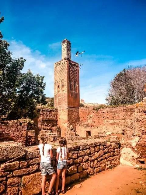 Chellah - old roman town