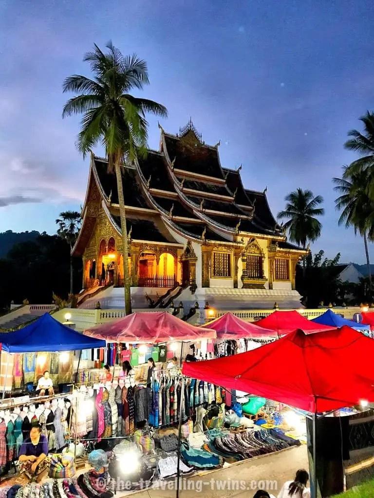 luang prabang night market - things to do in Luang Prabang