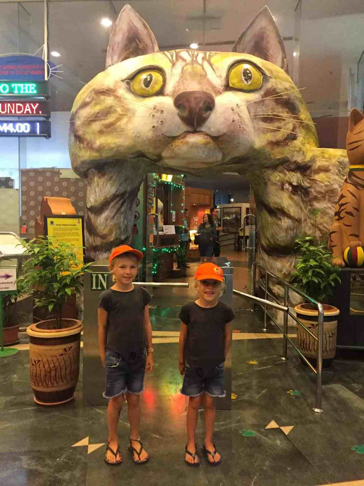things to do in Kuching with kids - visit Cats museum