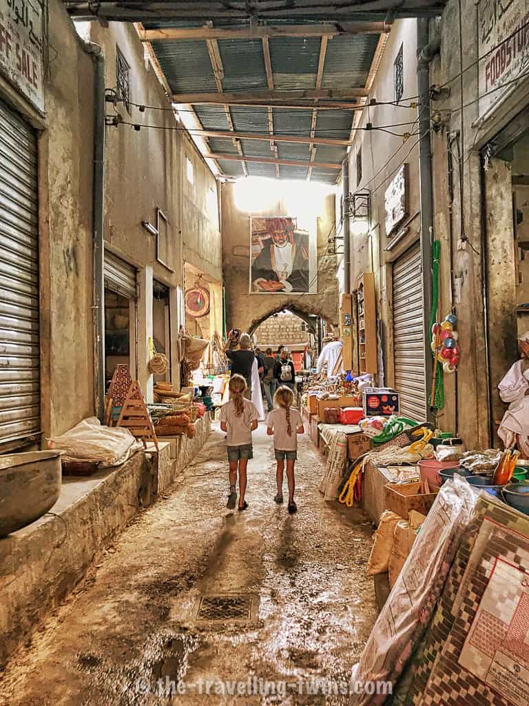 thinga to see in oman with kids - nizwa market