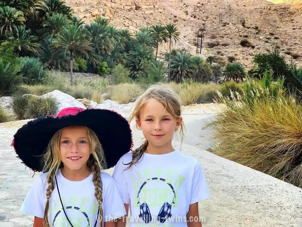 things to do in Oman with kids - visit Wadi Bani Khalid