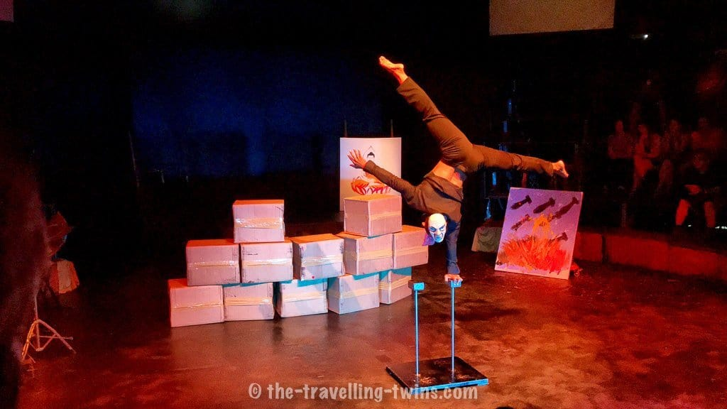 things to do in siem reap with kids - visit Phare circus