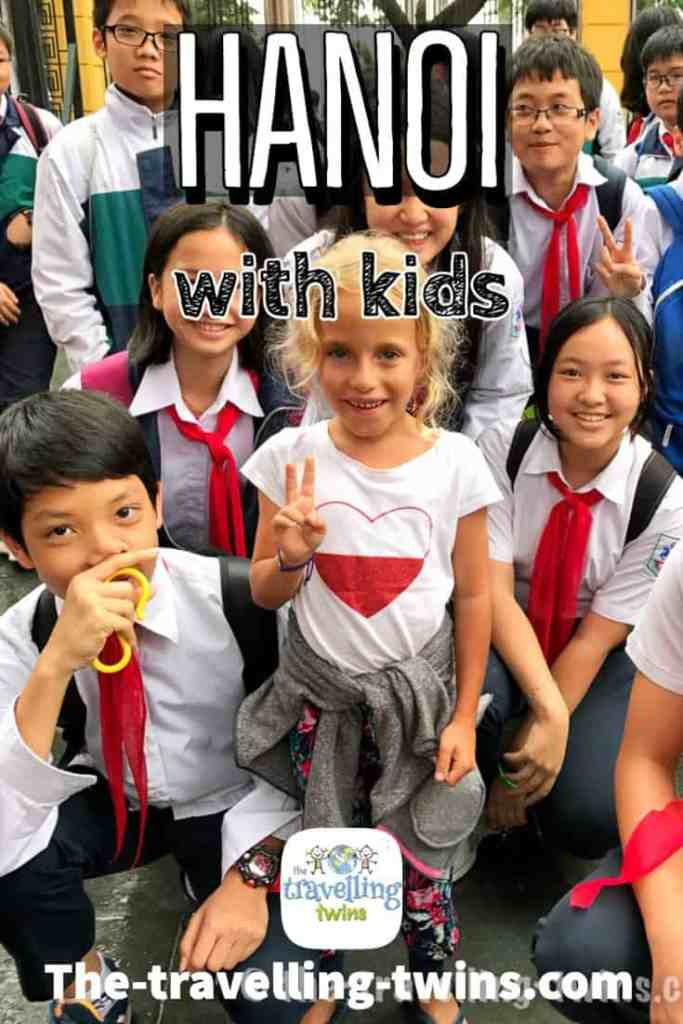 family holiday in hanoi with kids