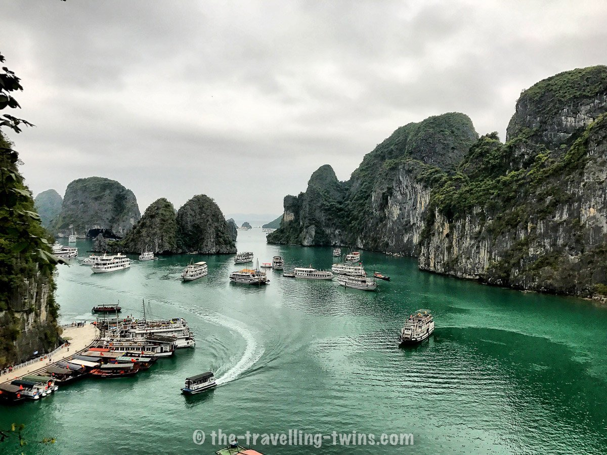 ha long bay - one of the Unesco World Heritage Sites - Vietnam Facts