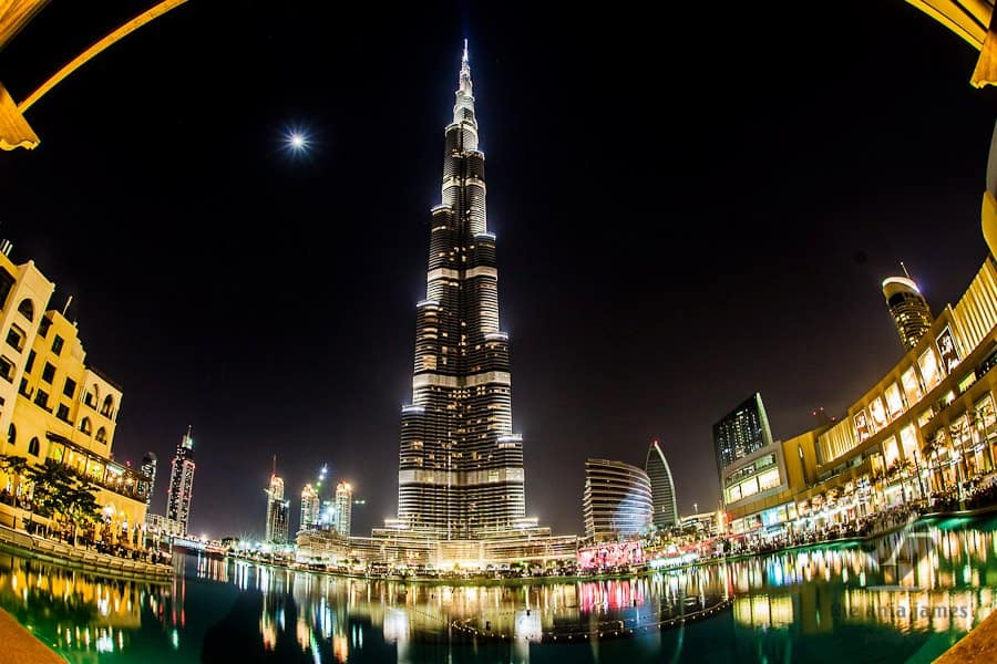 Dubai with kids - burj khalifa