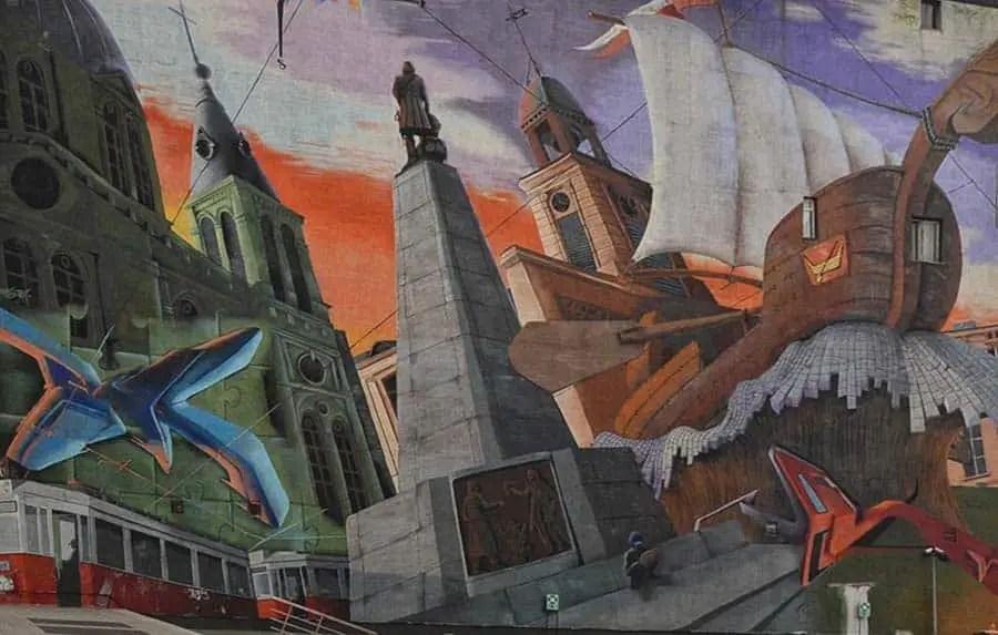 mural in lodz, City Of Łódź Mural