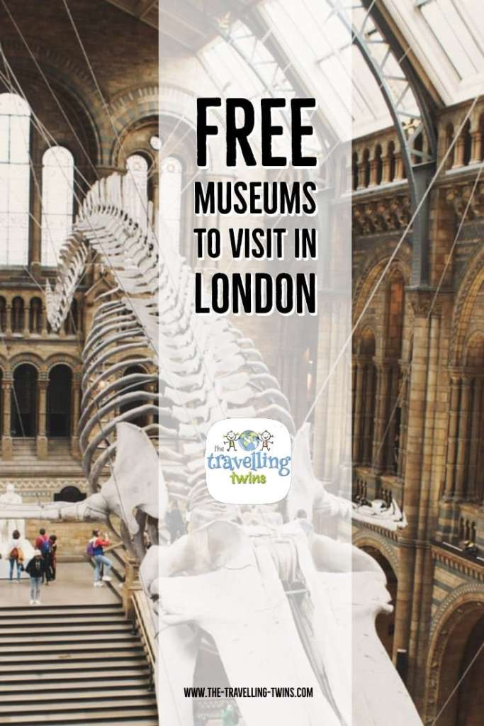 London museums - pin it