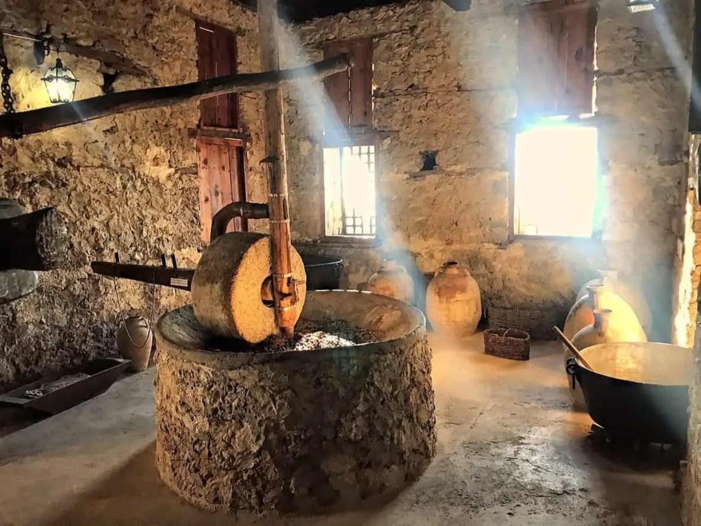 Kruje albania - ethnographic museum - olive press