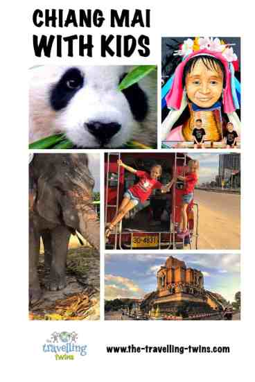Chiang Mai with kids - pin it for later
