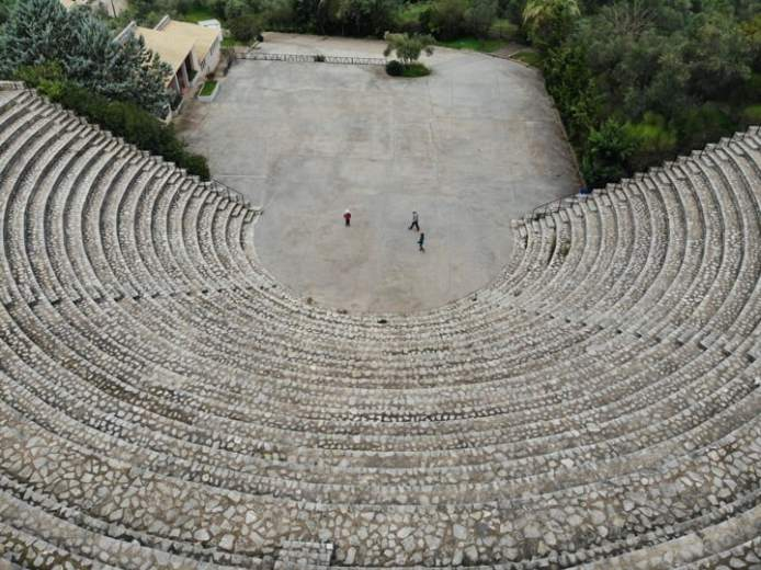 Greece amphitheater
