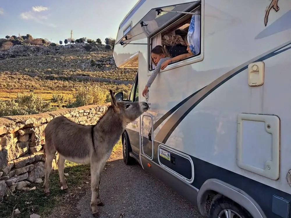 wild camping in albania, camping albania