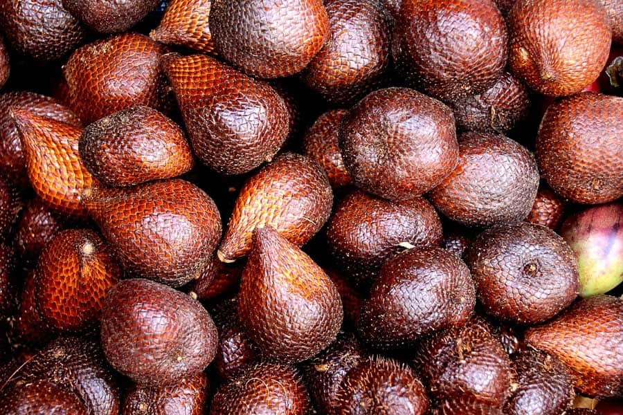 snake fruit native to asia