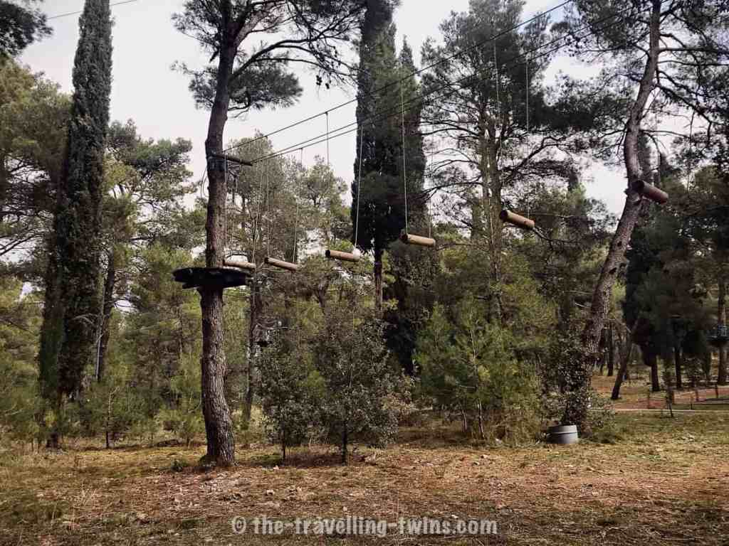 Podgorica Adventure park best experience and activities for outdoorsy people