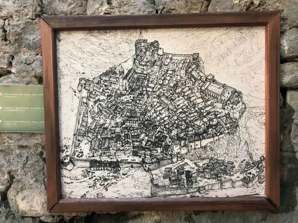 map of stari Bar