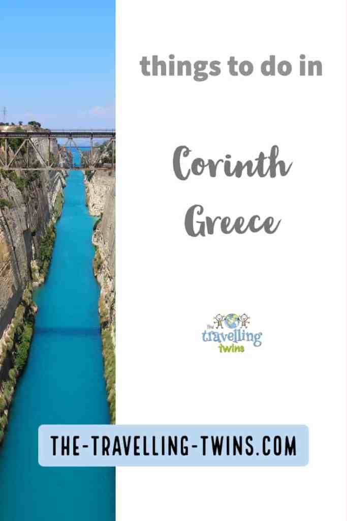 things to do in Corinth greece Pin it
