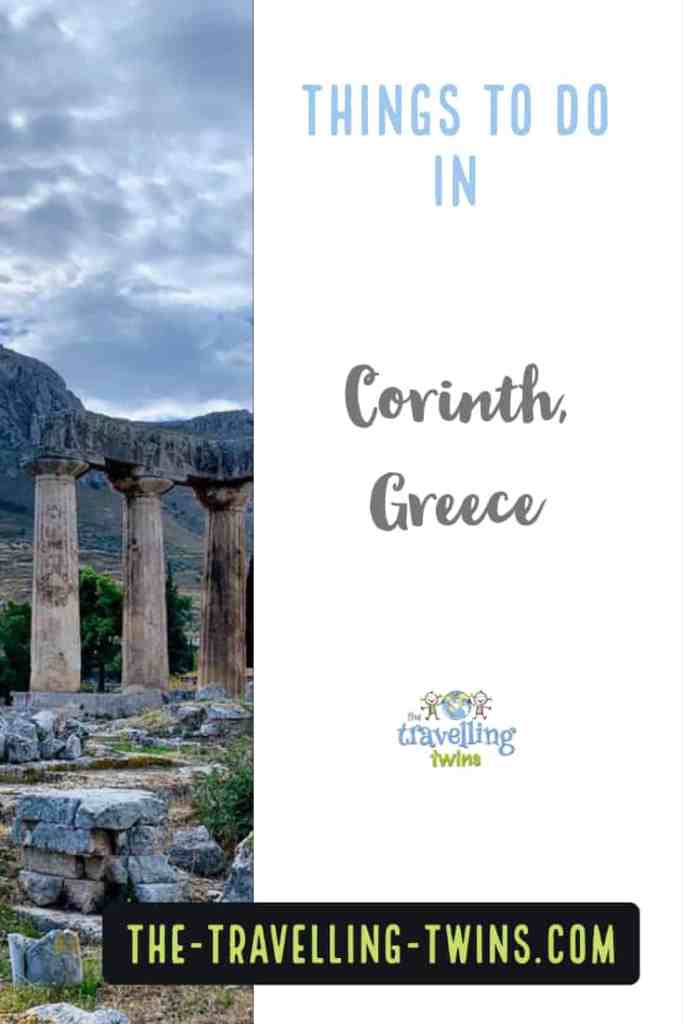 what to do in Corinth Greece during your visit