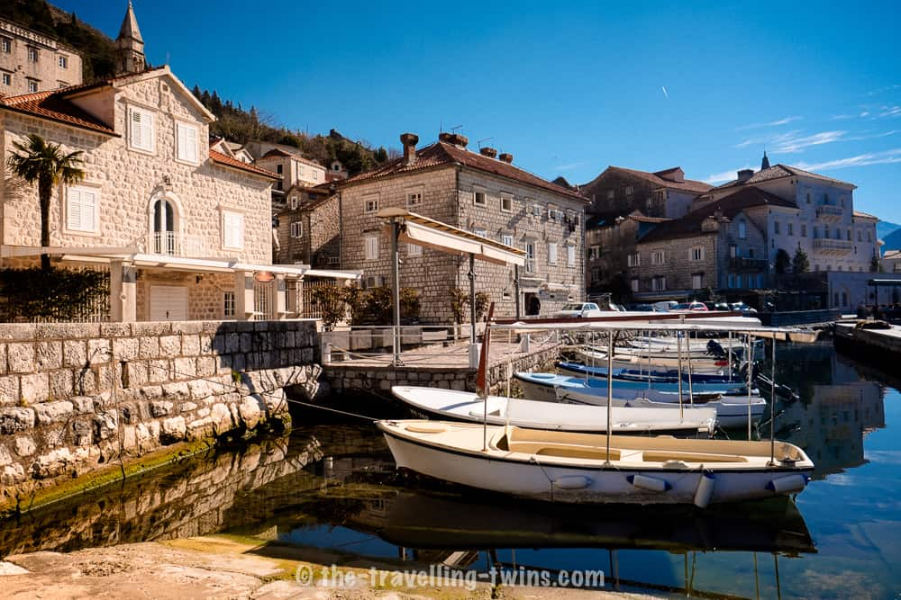 Perast the most beautiful city in the country  - perfect for a day trip