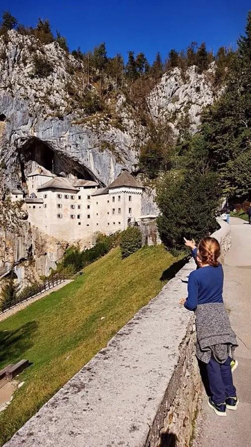 Predjama castle close to Postojna Cave - nova gorica