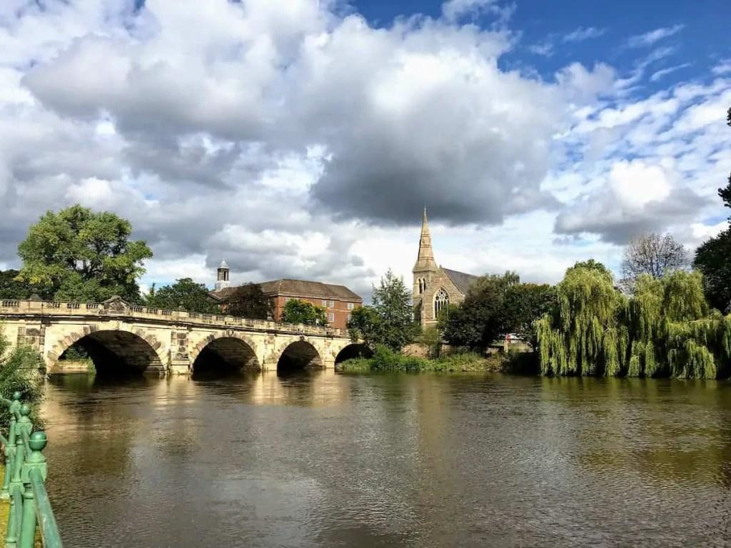River Severn Shrewsbury, Shropshire