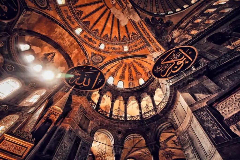famous landmarks in Turkey - hagia Sophia