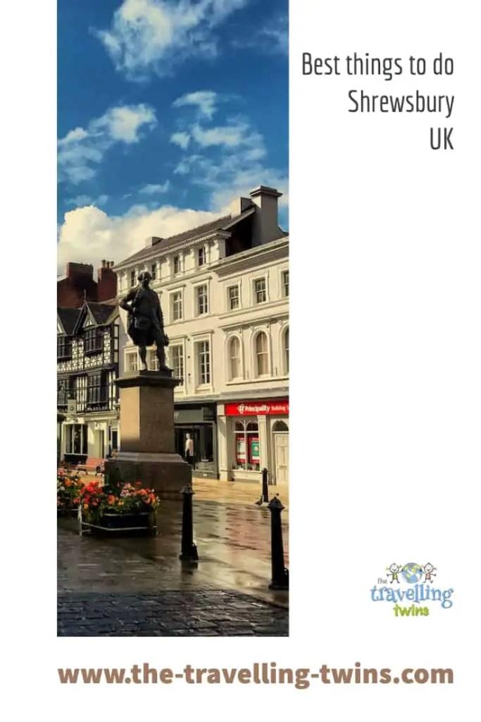 Things to do in shrewsbury, UK
