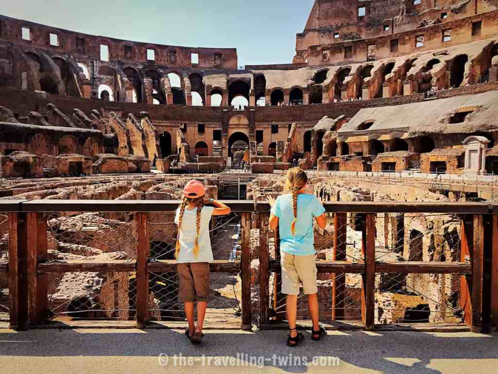 exploring Rome with kids - Colosseum