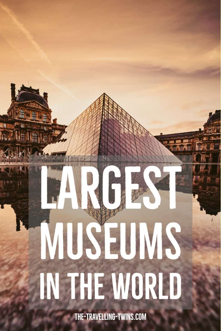 France Louvre - Largest museums in the world