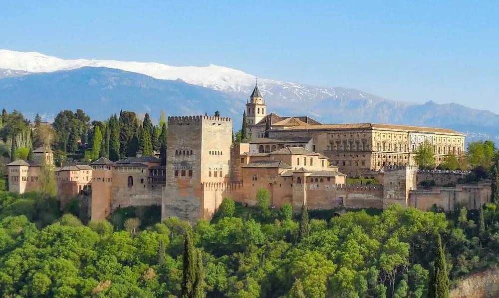 Spain - The Alhambra of Granada