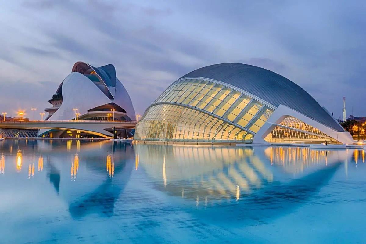 ciudad de las artes, Artes y las Ciencias