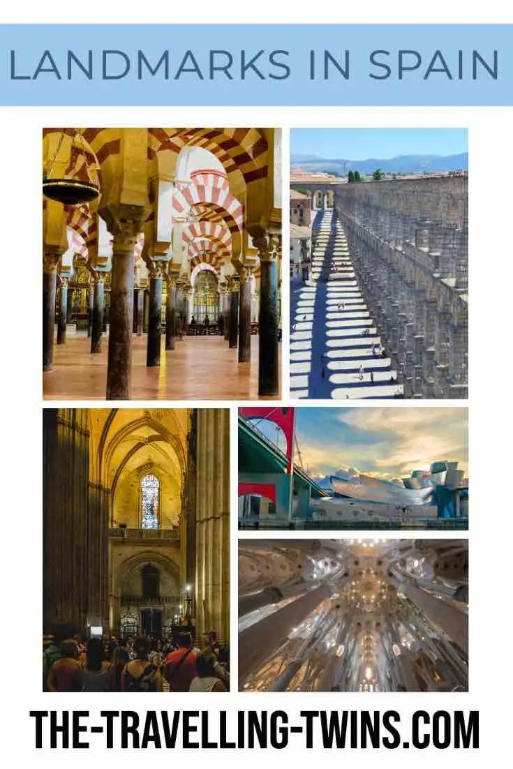 Landmarks in Spain, guggenheim museum bilbao