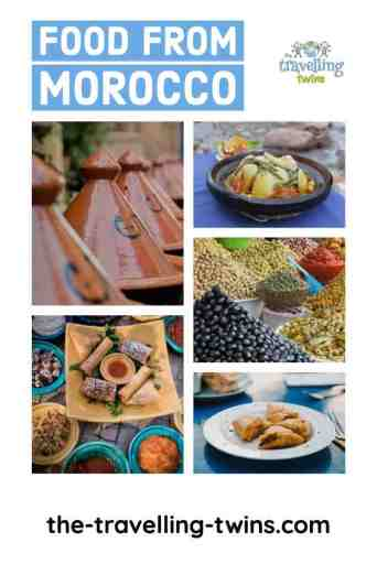 Moroccan food - food from Morocco
