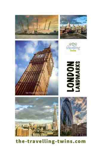 landmarks in london