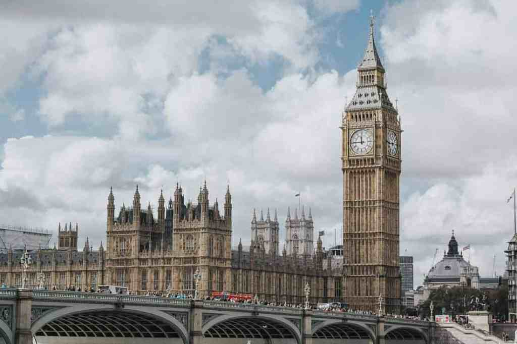 Big Ben and Palace of Westminster in London