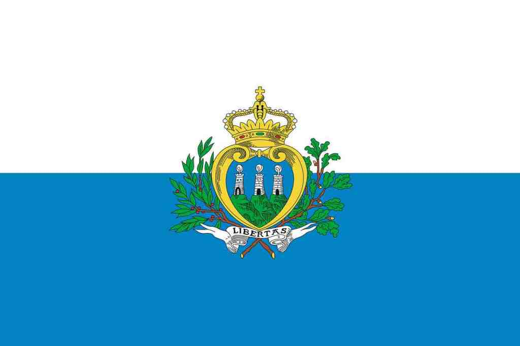 facts about San Marino - the Flag