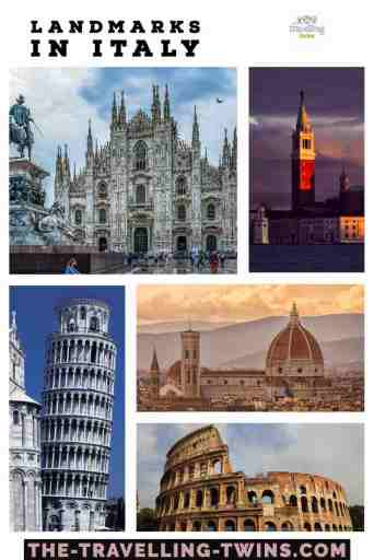 landmarks in Italy, italian landmarks