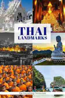 famous landmarks in thailand