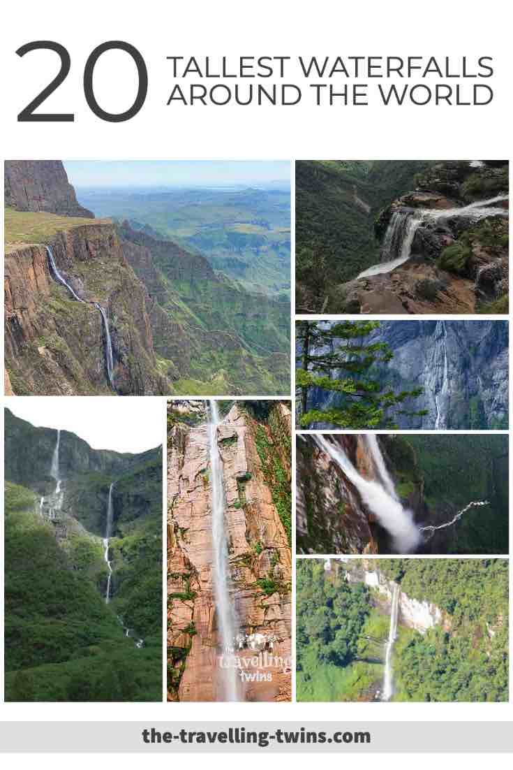tallest waterfall in the world