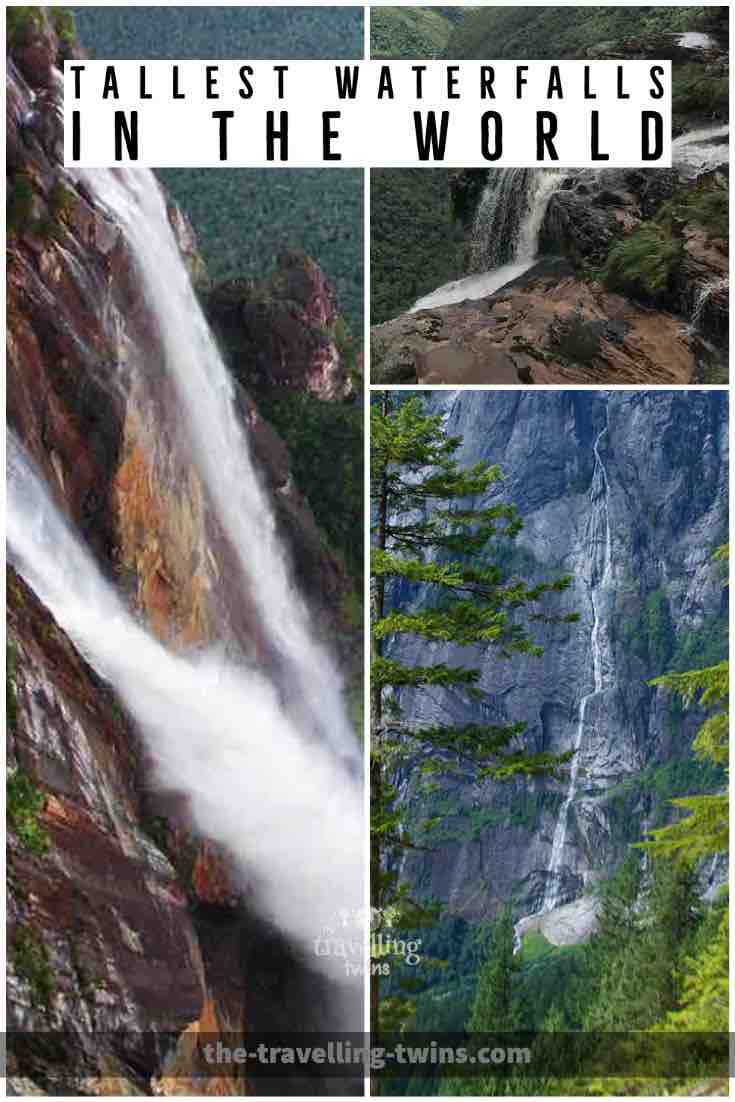 worlds highest waterfalls